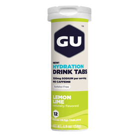 GU Energy Hydration Drink Tabs Lemon Lime 12 Stück